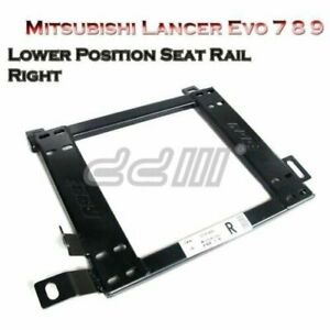New Front Right Lower Position Seat Rail for Mitsubishi Lancer Evo 7 8 9