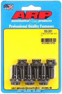 Arp 330 2801 Pro Series Flywheel Bolt Kit Chevy Sb 12 Point 7 16 X 875