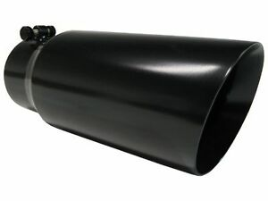 t5053blk Mbrp 12 Black Exhaust Tip 4 Inlet 5 Outlet Dual Walled Angled