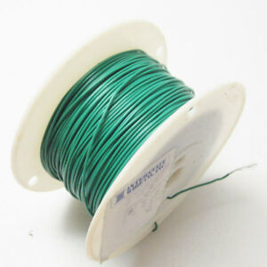 630 Interstate Wire Wpy2010 5 20 Awg Grn Mil spec Wire