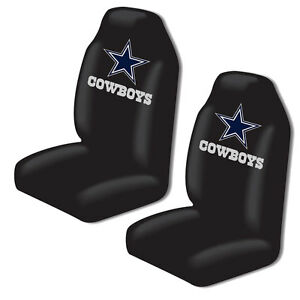 New Nfl Dallas Cowboys 2 Front Universal Fit Car Truck Bucket Seat Covers