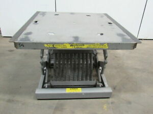 Year a round Corp 1500 Lb Spring Level Loader Palletpal Style Lift Table 46 x42