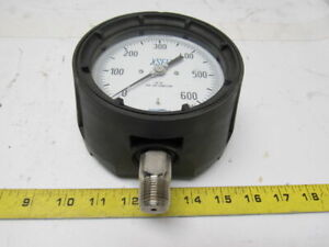 Wika 23x 34 Pressure Gauge 0 160psi 1 2 Npt Stainless Connection Size 4 1 2