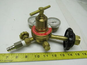 Meco Br3 125 Compressed Gas Air Regulator 3000 Psig Max