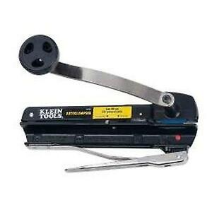 Klein Tools 53725 Auto Clamping Bx And Armored Cable Cutter New