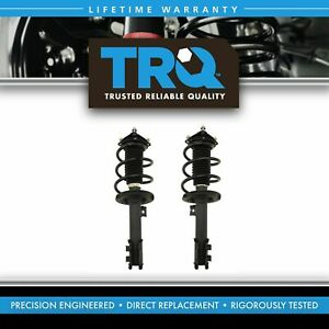 Trq Loaded Quick Complete Strut Spring Mount Assembly Lh Rh Pair 2pc Front New