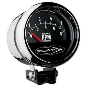 Auto Meter Tachometer Gauge 2897 Traditional Chrome 8000 Rpm 3 3 4 Electrical
