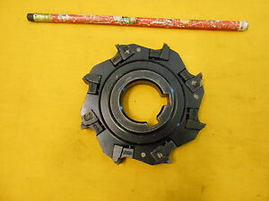 Valenite Usa 4 Indexable Carbide Insert Mill Cutter Milling Tool Holder