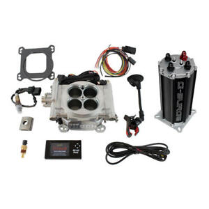 Fitech Fuel Injection System 33001 Go Efi 4 G Surge Tank Master Kit 650hp Tbi