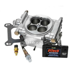 Fitech Fuel Injection System 31001 Inline Pump Go Efi 4 600 Hp Tbi Satin