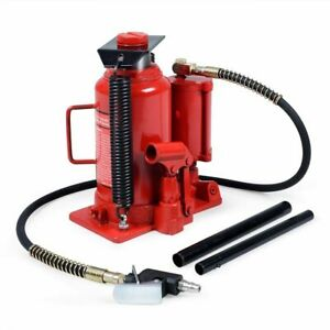 20t Ton 40 000lb Air And Hydraulic Bottle Jack Heavy Duty Auto Truck Repair Lift