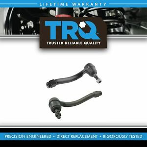 Trq Steering Tie Rod End Lh Driver Rh Passenger Outer Pair For Nissan Infiniti