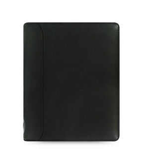 Filofax A5 Size Nappa Zip Organiser Planner Diary Black Leather 025153 Gift