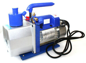 Single Stage 7 Cfm 1 2 Hp Rotary Vane Deep Vacuum Pump 110v 60hz Hvac Ac Tool