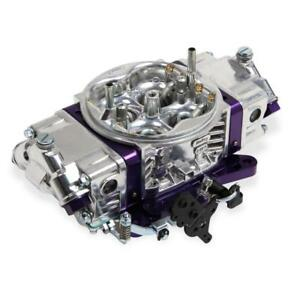 Holley Carburetor 0 67201pl 850 Cfm No Choke Purple polished