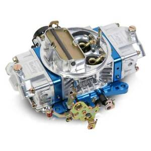 Holley Carburetor 0 76850bl 850 Cfm Electric Choke Blue polished