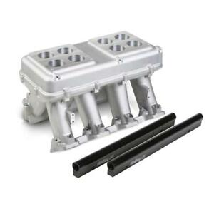 Holley Intake Manifold 300 114 Hi tech Tunnel Ram Aluminum For Chevy Ls3 L92