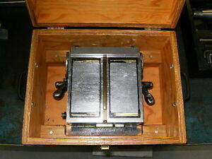 Magnetic Precise Angular Sine Plate With Wooden Box