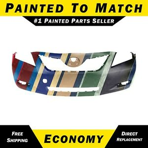 New Painted To Match Front Bumper Cover For 2007 2008 2009 Toyota Camry 07 09