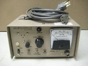 Ludlum 177 1 Count Rate Meter Radiation Radiological Calibrated 2003