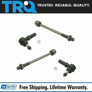 Inner Outer Tie Rod End Lh Rh Set Of 4 For C5 C6 Corvette Cadillac Xlr New