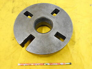 8 Lathe Dog Drive Plate Face Driver Metal Engine Work Holder Tool 2 11 16 6tpi