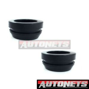 2x Aluminum Valve Cover Rubber Grommet Breather 1 id 1 25 od Chevy Ford Mopar