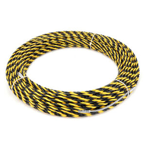 164 Feet 50m Polyester Fish Tape Dia 0 24in 6mm Electrical Wire Threader