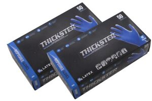 Sas Thickster Textured Safety Latex Gloves 2 Boxes