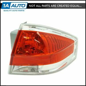 Tail Light Lamp Assembly W Chrome Trim Rh Passenger Side For 08 11 Ford Focus