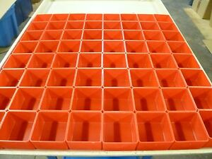 64 3 x3 x2 Plastic Boxes Fit Lista Stanley Waterloo Toolbox Organizer