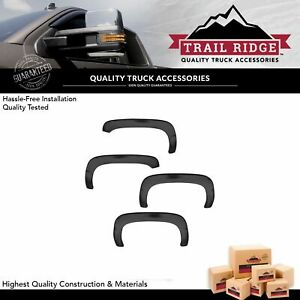 Trail Ridge Fender Flare Kit Bolt On Factory Style Smooth Black For Tahoe Suv