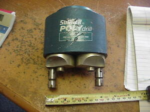 Suhner Polydrill Two Head Mh 20 7 Ratio 1 1 Max Cap 7mm 4000 Rpm Drill Head