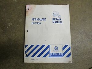 New Holland Br730 A Br 730 A Baler Service Repair Manual