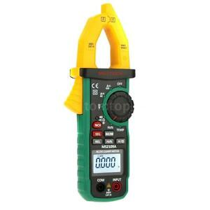Mastech Ms2109a Auto Ranging Digital Ac dc Clamp Meter Cap Temp Ncv Tester M1u7