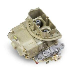 Holley Carburetor 0 80684 Tri power outer 350 Cfm 2 Barrel Gold Dichromate