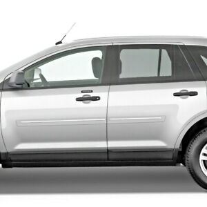 Painted Body Side Moldings With Chrome Trim Insert For Ford Edge 2007 2014