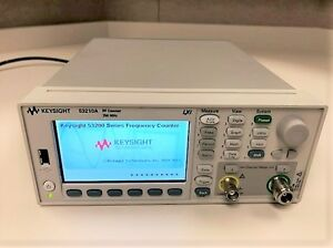 Agilent Hp Keysight 53210a 350 Mhz Rf Frequency Counter 10 Digits Opts 106 400