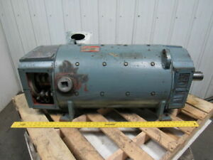 Ge General Electric 5by445a18g01 150 Hp Dc Electric Motor Shunt Wound 500vdc