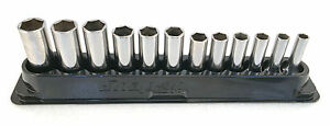 Snap on 12 Pc 3 8 Drive 6 pt Metric Deep Socket Set With Magnetic Tray 212sfsmy