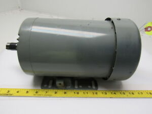 Leeson Electric C145t34fb28b 3hp Electric Motor 208 230 460v H145t Frame 3485rpm