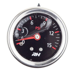 Redhorse Fuel Pressure Gauge 5001 15 3 Fuel Pressure 0 15psi Full Sweep