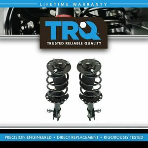 Trq Loaded Quick Complete Strut Spring Mount Assembly Front Pair For Saab 9 3