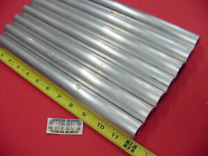 7 Pieces 1 Od X 1 4 Wall 6061 T6 Aluminum Round Tube 12 Long 1 2 Id Seamless
