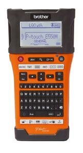 Brother Pt e550w P touch Edge Electronic Label Maker Thermal Transfer W Case