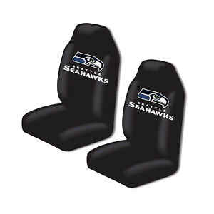 New Nfl Seattle Seahawks 2 Front Universal Fit Car Truck Bucket Seat Covers