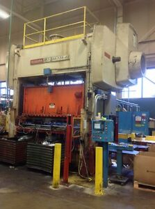 300 Ton Niagara Straight Side Double Crank Press Stamping Planet Machy 5128