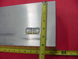 2 Pieces 4 X 6 Aluminum 6061 Flat Bar 11 Long Solid T6 Rectangle Mill Stock