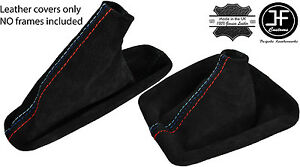 Black Stitch Real Suede Shift E Brake Boot Fits Bmw E30 1982 91 M Stitch