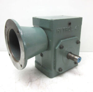 Hytrol 4a 20 1 Gearbox Worm Gear Speed Reducer C face
